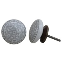 Handmade Knobs Ceramic Knobs Drawer Knobs Cabinet by ...