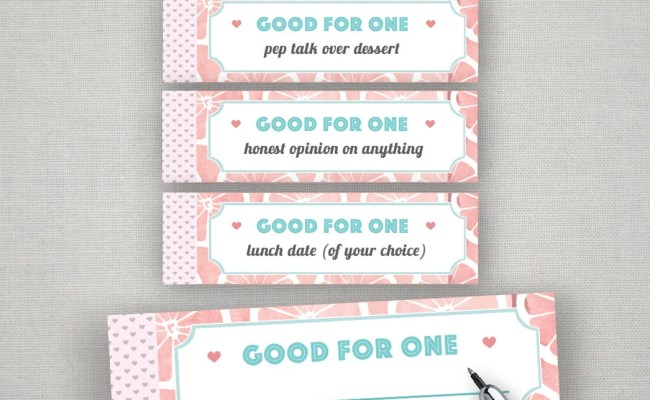 Best Friends Gifts Diy Coupon Book Single Girl Friend Bff