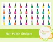 nail polish sticker
