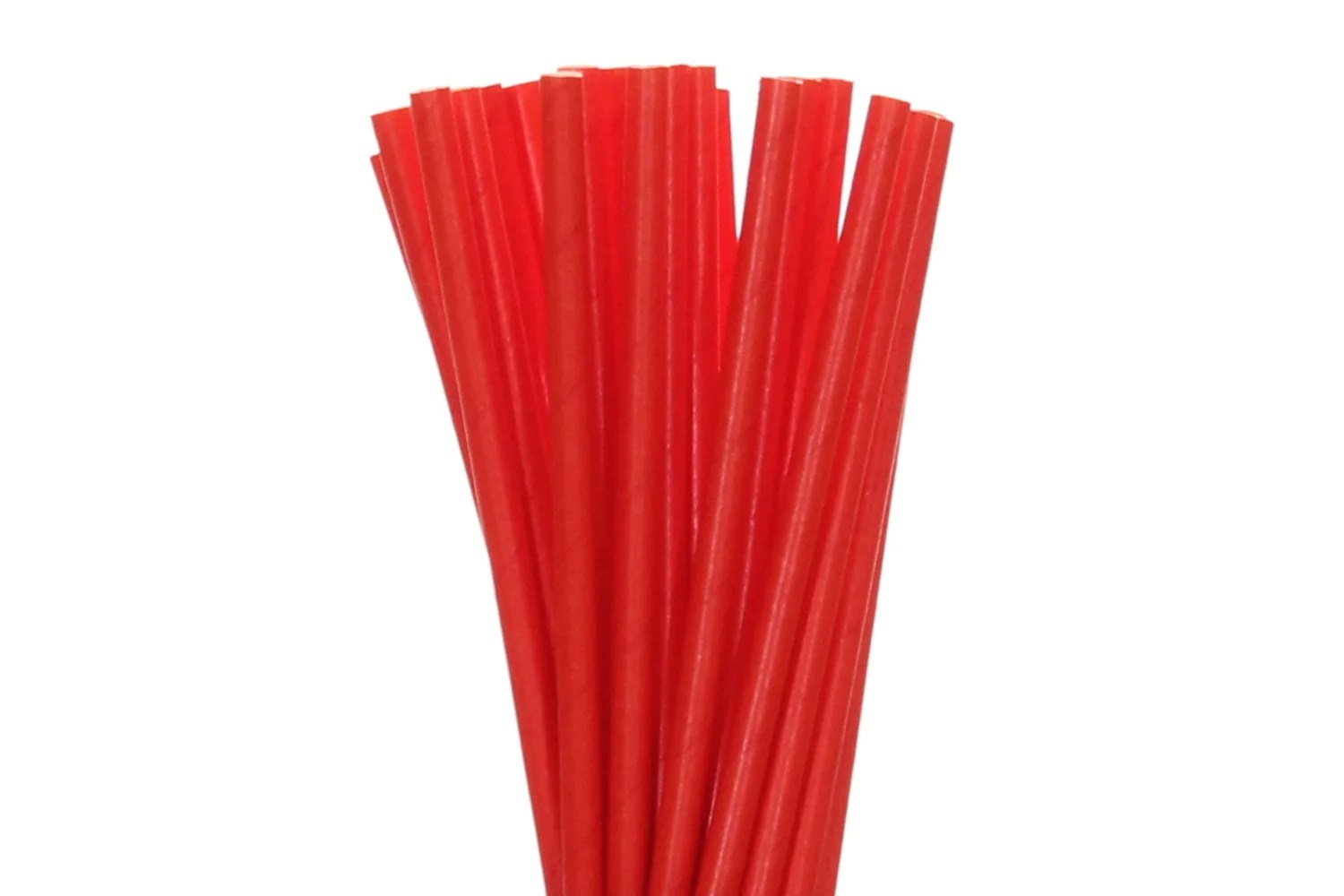 Paper Straws Solid Red Paper Straws Red Christmas Straws