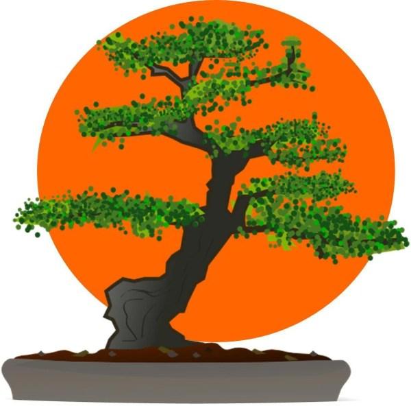 Karate Kid Bonsai Tree Logo Halloween Everyday Iron
