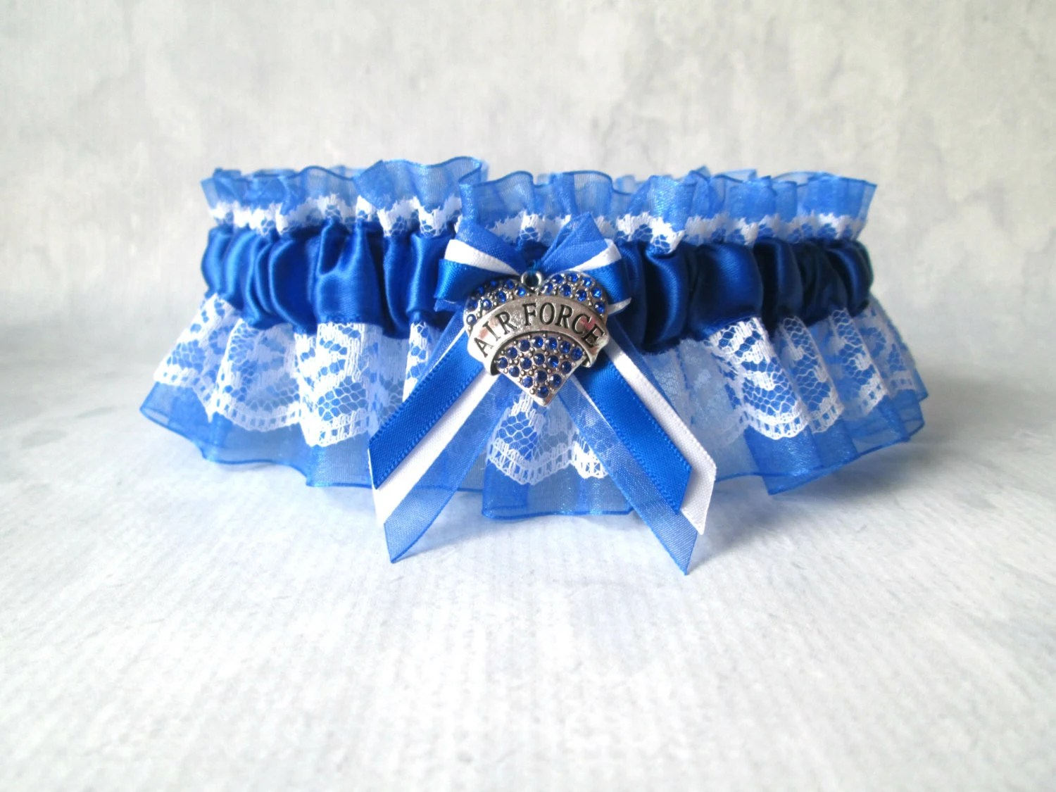 Military Air Force Wedding Garter Air Force By CreativeGarters