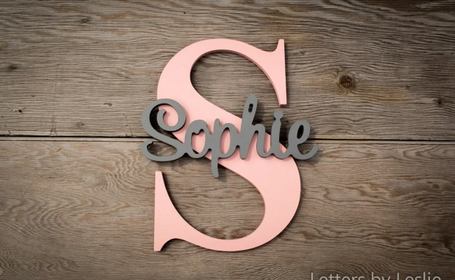 Personalized Children S Wood Wall Name Signs Wood Letters