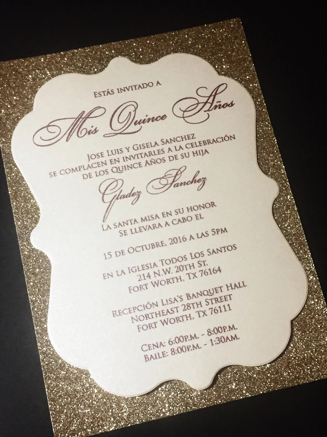 Quinceanera Invitations Wording