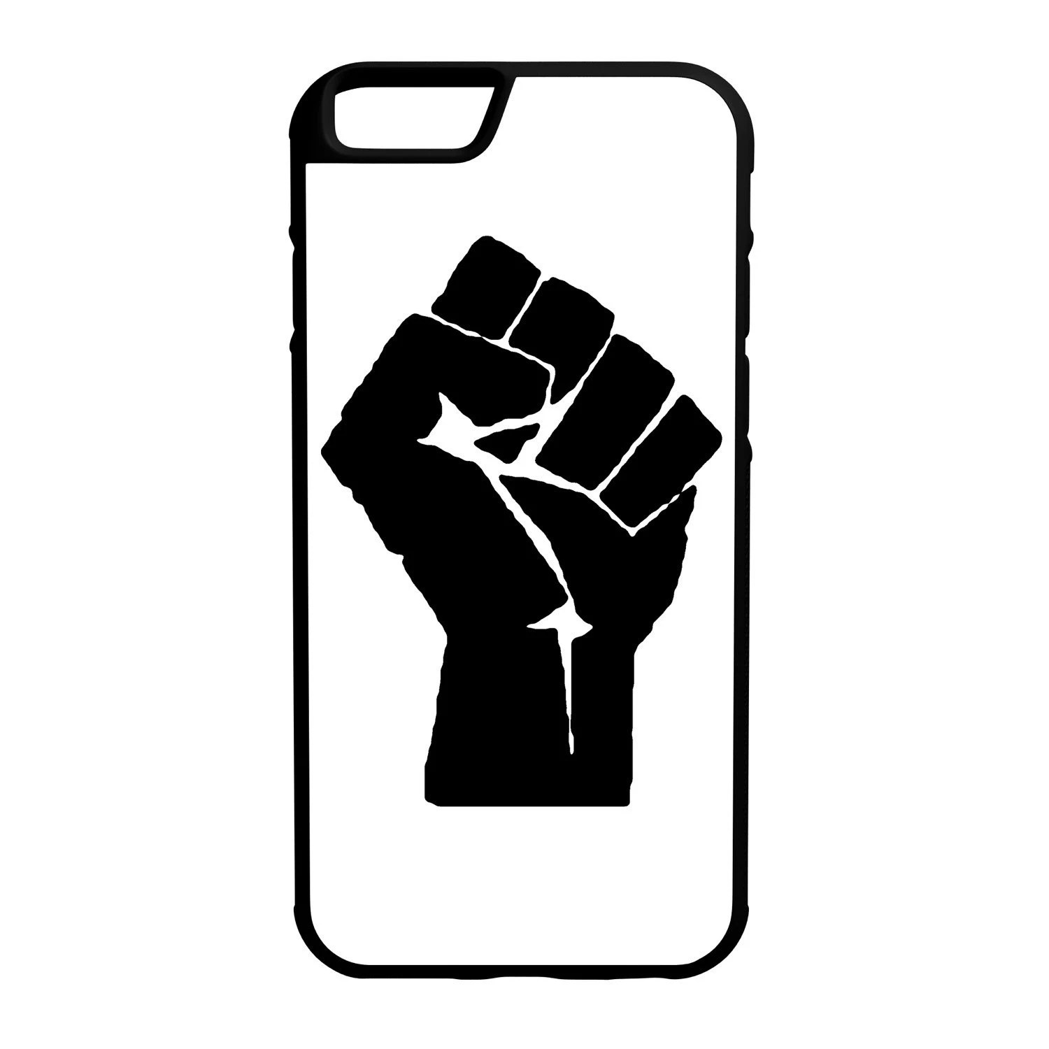 Raised Fist iPhone Galaxy Note LG HTC Protective Hybrid Rubber