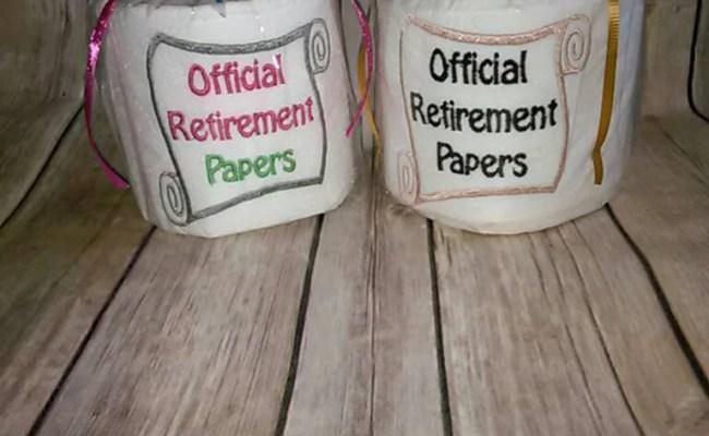 Unique Retirement Gift Retirement Papers Retirement Party