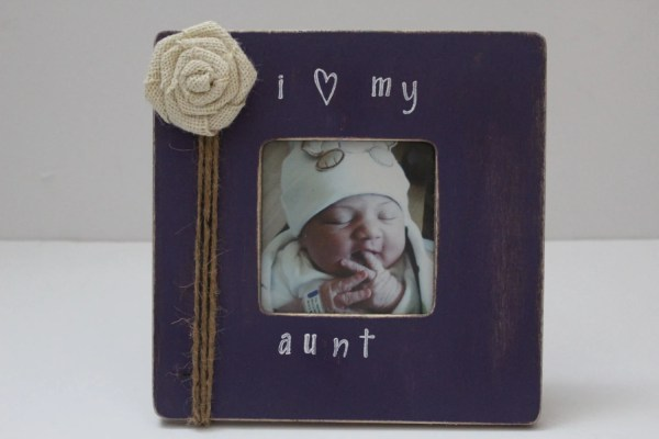 Aunt Frame Purple Favorite