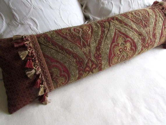 extra long decorative bolster pillow 11x38 includes insert