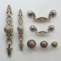 French Shabby Chic Dresser Drawer Pulls Handles / Antique