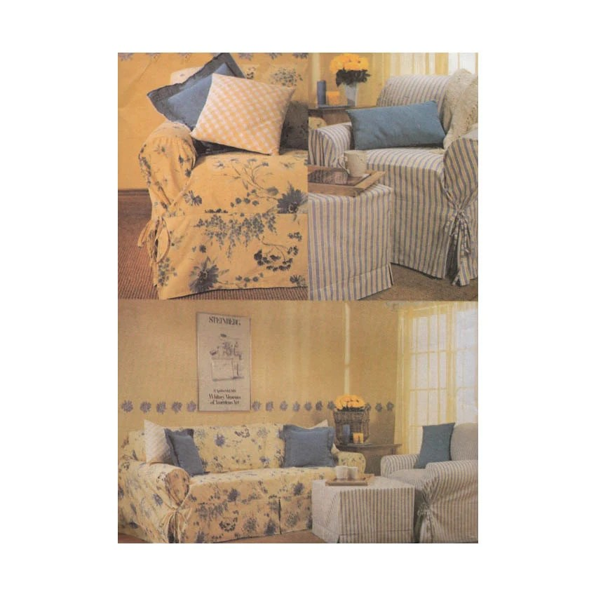 pattern for loose sofa cover clic clac bed ikea uncut slipcover sewing armchair ottoman and