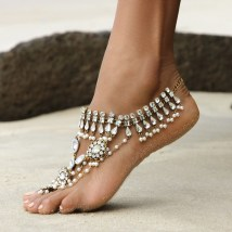 Bridal Shoes And Jewels Barefoot Wanderer