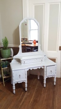 SOLD Customize Vintage Shabby Cottage Fancy Dressing Table