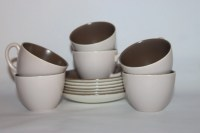 Expresso nespresso coffee set set 6 small cups and saucers