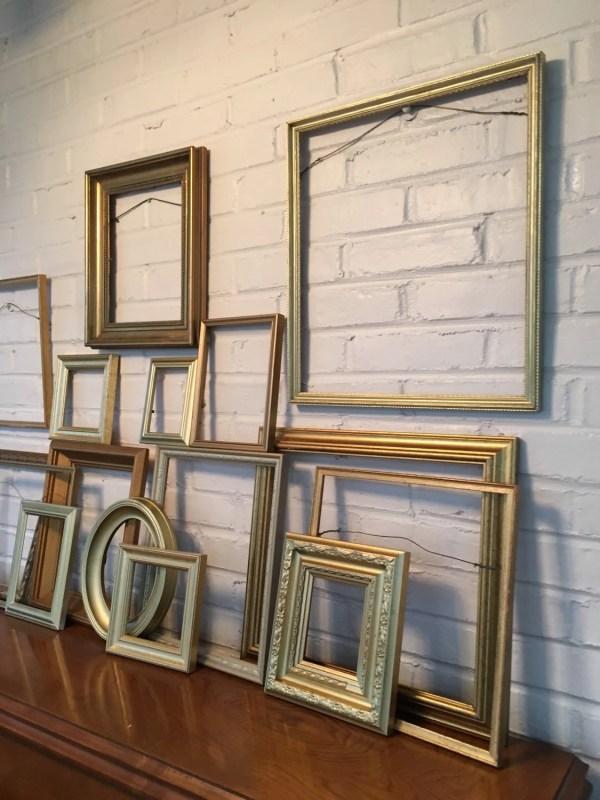 Modern Gold Frame Wall Frames