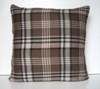 Plaid Flannel Pillow Cover Throw Pillow Flannel Pillow