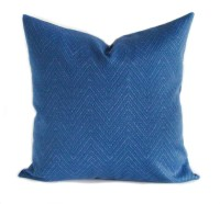 Blue outdoor pillow cover 20x20 Blue outdoor pillows