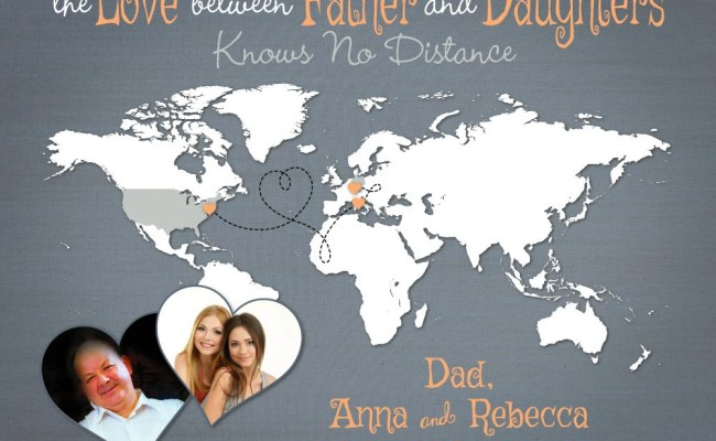 Personalized Gift For Dad Long Distance Present Father S