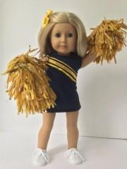 cheer uniform american 18 girl