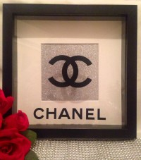 Chanel Box Frame Chanel Wall Art Chanel Frame Chanel by ...