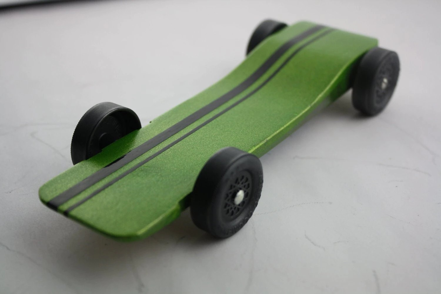 Pinewood Derby Car Kit Fast Speed Complete Ready To By DerbyDust