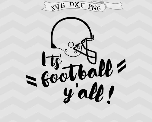 Football SVG, Football Mom svg its football yall game day