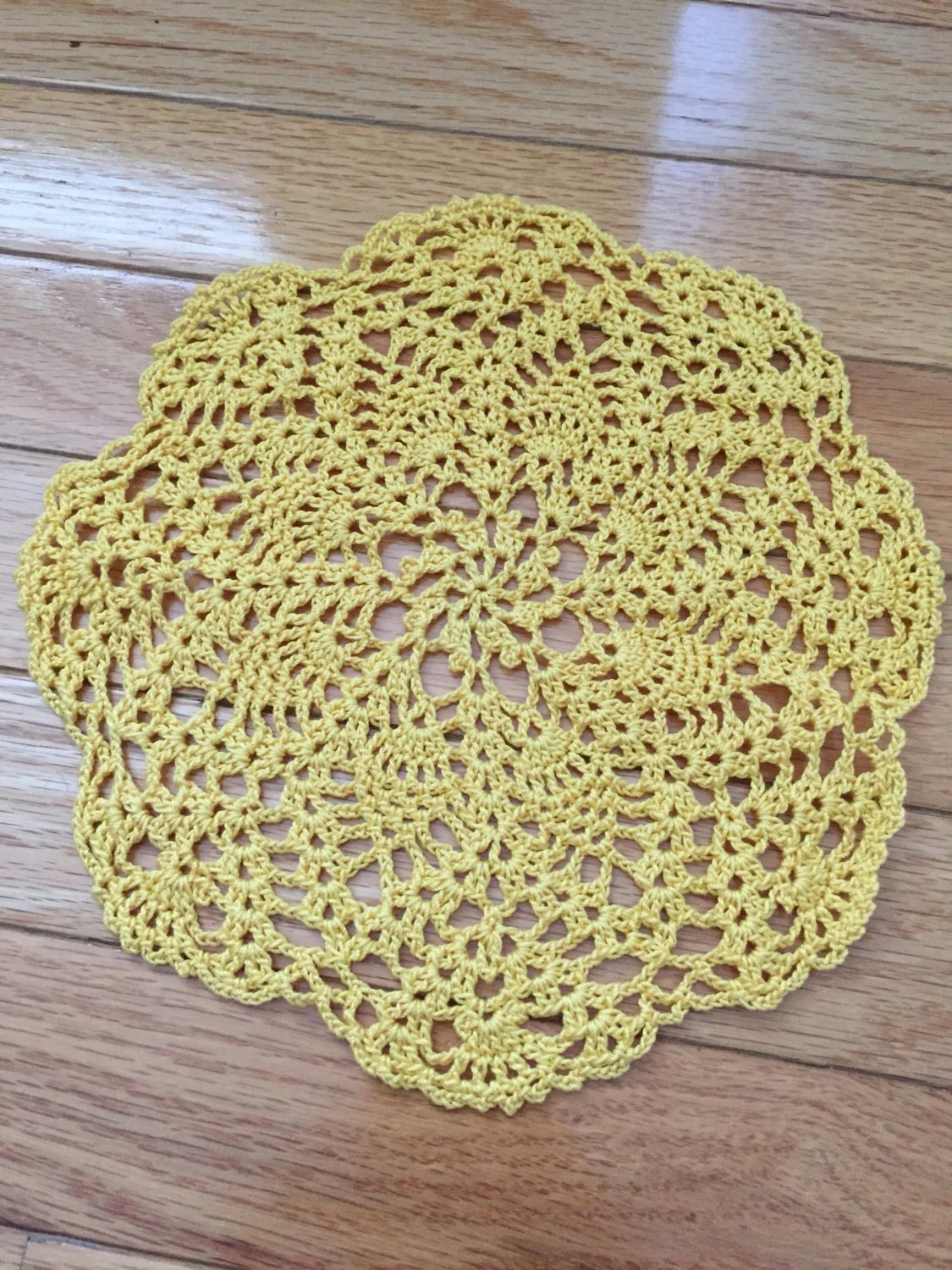 mustard yellow bean bag chair cane dining chairs for sale crochet flowers wool rug / knit floral carpet