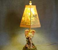 Angel Lamp Lithopane Shade