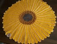 Sunflower blanket Pattern PATTERN ONLY Crochet Pattern