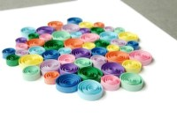 Colorful Wall Art Paper Quilled Circle Art Quilling Art