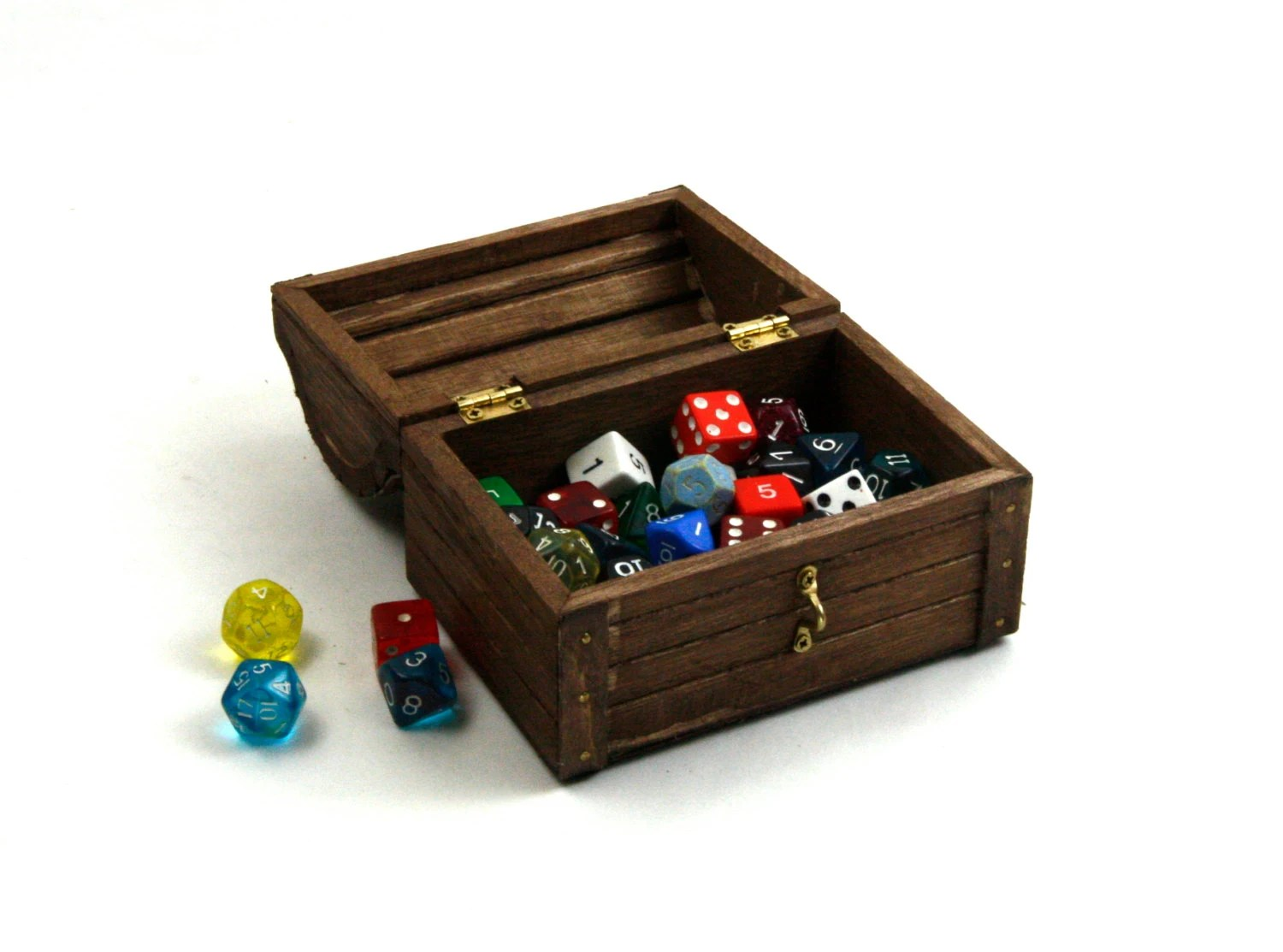 Dungeons And Dragons Dice Box Medium Wooden Dice Box DnD