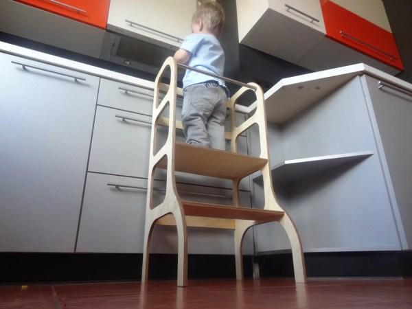 Toddler Step Stool Kitchen Helper Learning Tower Ettetete