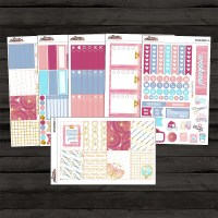 Office Space Full Weekly Planner Sticker Kit for use with