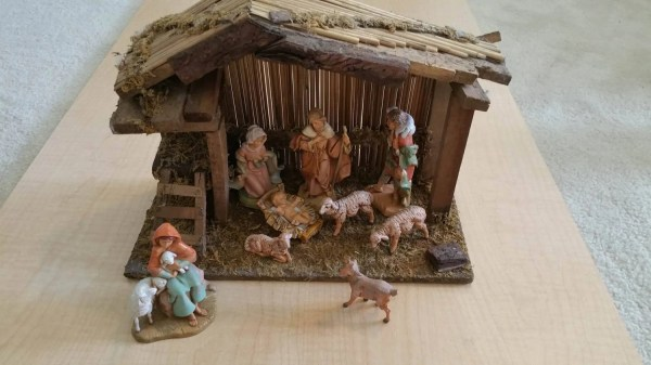 Fontanini Nativity Set Vintage