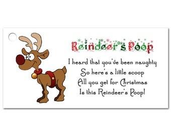 Reindeer Poop Etsy