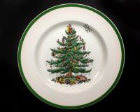 Vintage Spode Christmas Tree Dinner Plate