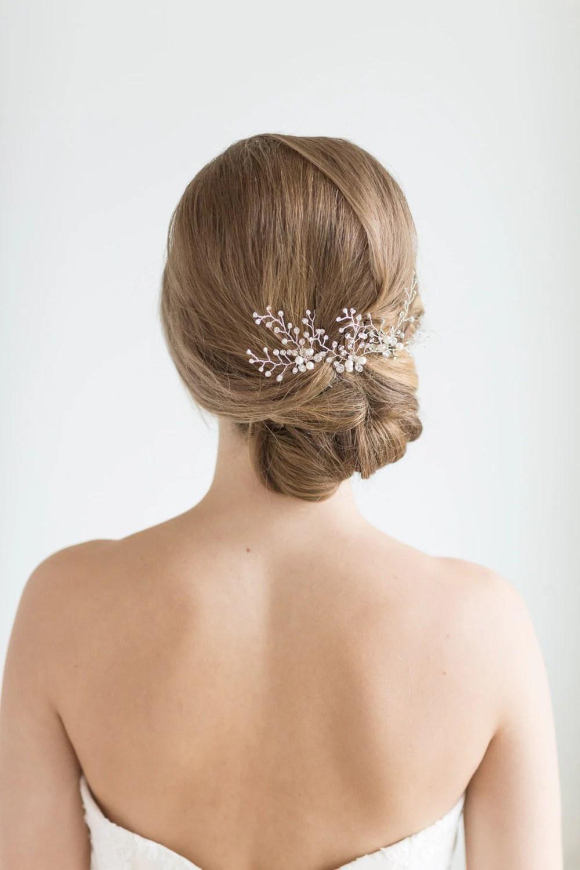 Crystal Bridal Hair Pins Wedding Hair Pins Crystal Hair Pins