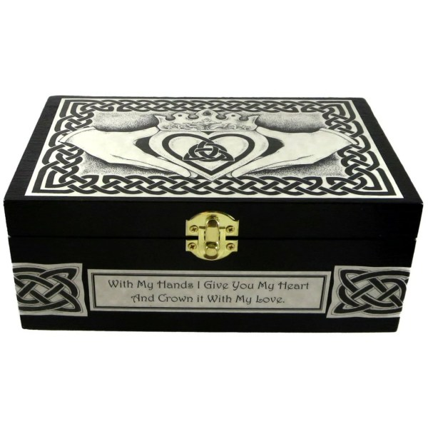 Celtic Wooden Jewelry Boxes