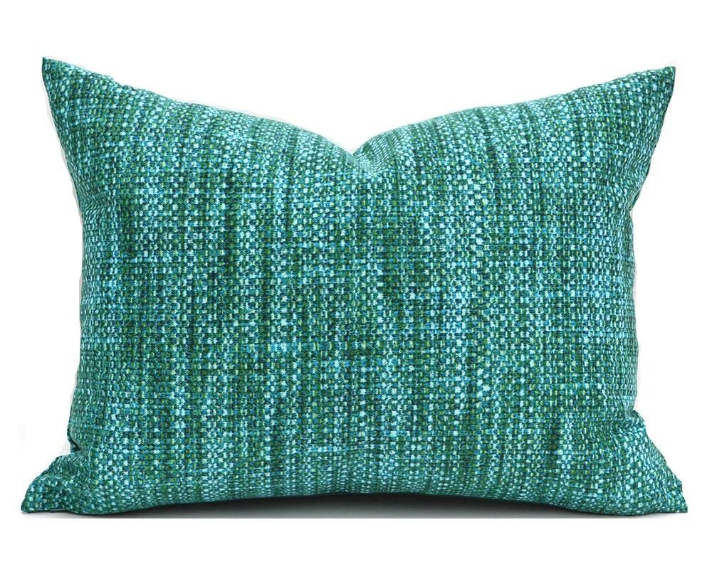 Indoor Outdoor Lumbar Pillow Cover ANY SIZE Decorative Pillows