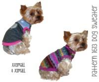 Dog Sweater Pattern 1613 XXSmall & XSmall Dog by ...