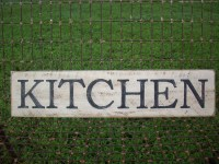 Kitchen Sign / French Country Decor / Country Farm Wall Decor