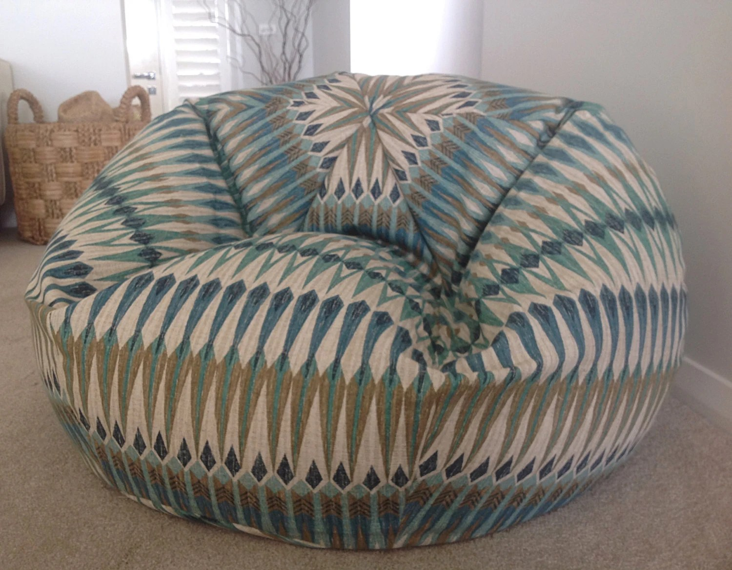 Beanbag Chair Bean Bag Beanbag Acela Bean Bag Cover Teal Aqua Blue