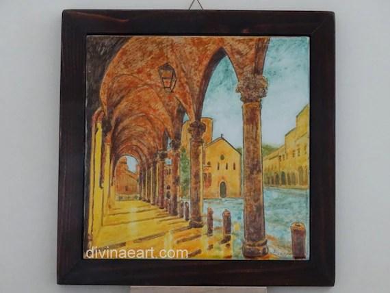 Bologna portici ceramica artistica faenza deruta
