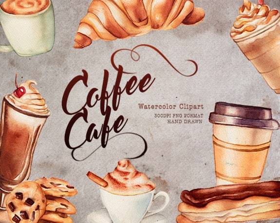 coffee clipart cafe food