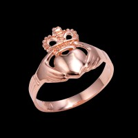Rose Gold Claddagh Rings Gold Traditional Claddagh Ring