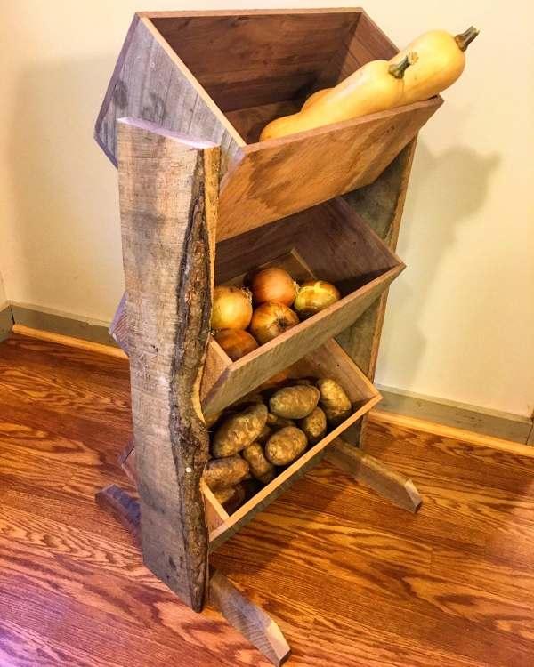 Potato Bin And Onion Vegetable Farmhouse