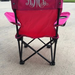 Folding Chair For Toddler Plastic School Chairs Monogram By Lapetitepartypapers On Etsy