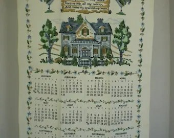 Vintage Scandinavian Linen Placemats Nordiska Kompaniet