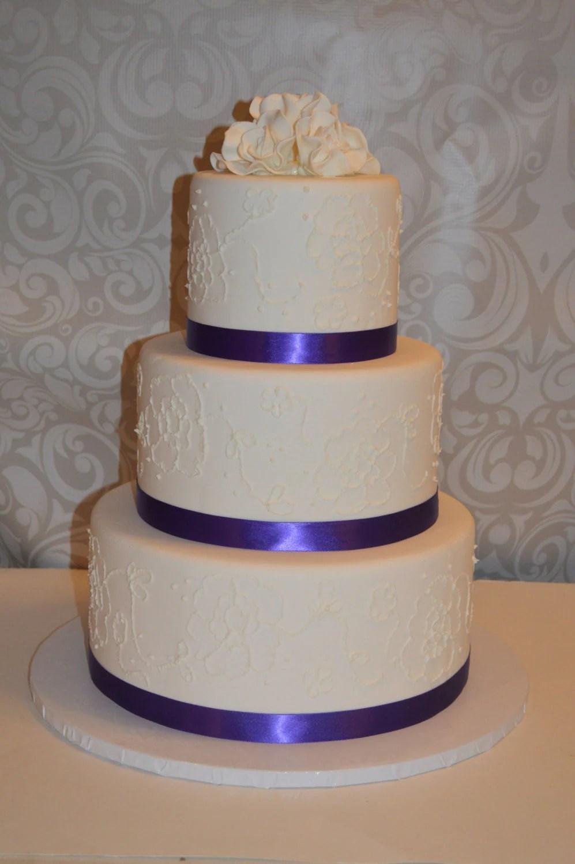 3 Tier Faux Wedding Cake fake wedding cake dispaly wedding