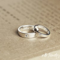 Matching Promise Rings His and Her Gift For Couples by ...