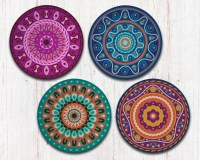 Mandala Coasters - Mandala Art - Drink Coasters ...